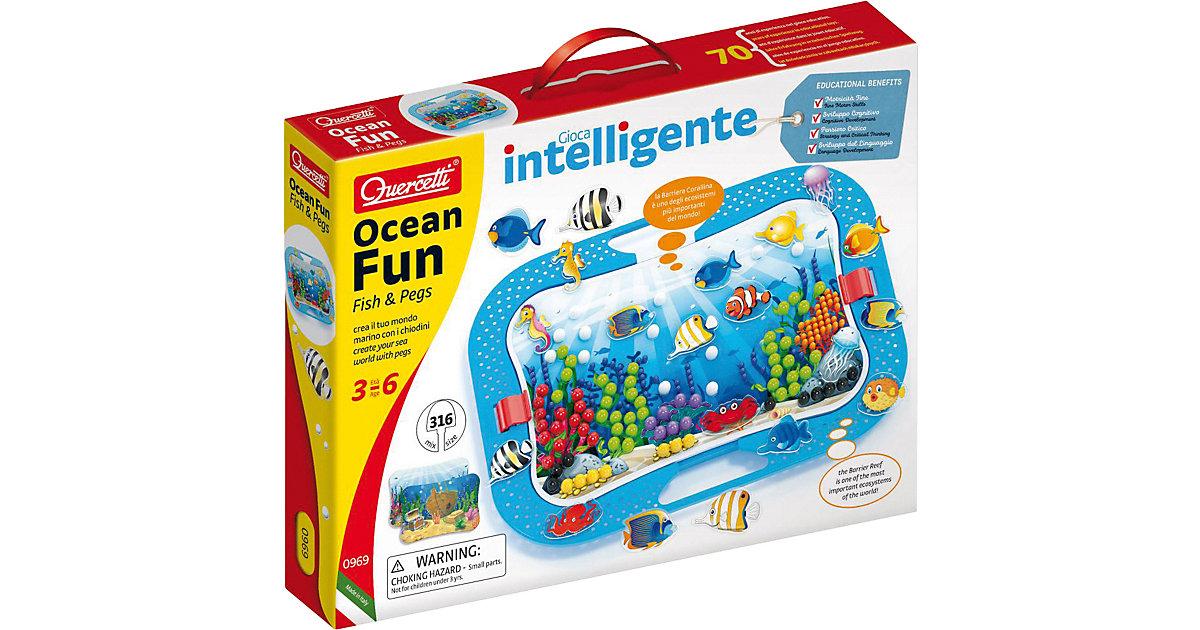 Quercetti Ocean Fun Fish & Pegs