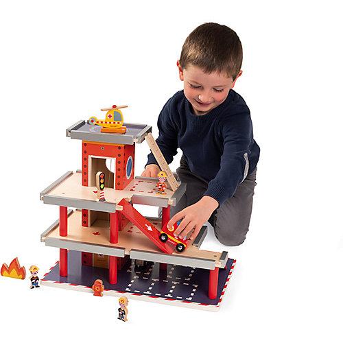 """Игровой набор Janod """"Пожарная станция"""" от Janod"""