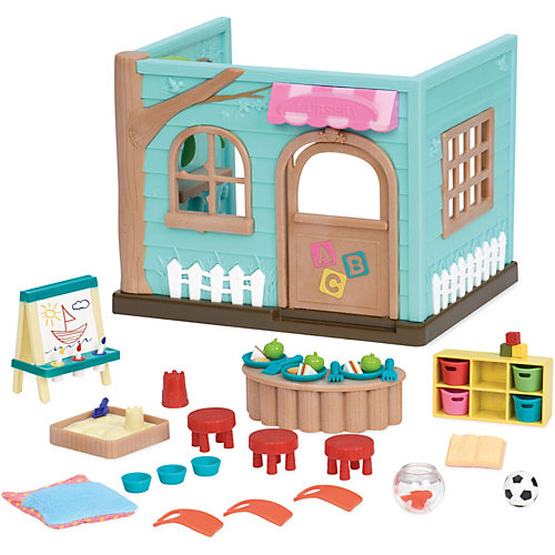 "Игровой набор Li'l Woodzeez ""Детский сад"", с аксессуарами от Li'l Woodzeez"