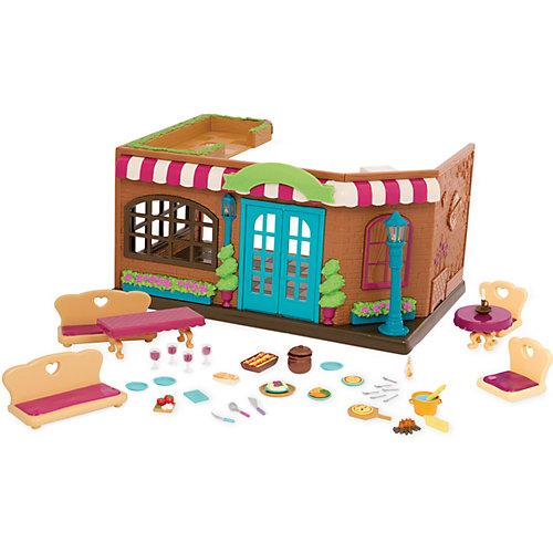 """Игровой набор Li'l Woodzeez """"Траттория"""", с мебелью и аксессуарами от Li'l Woodzeez"""