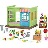 """Игровой набор Li'l Woodzeez """"Цветочный магазин"""", с аксессуарами"""
