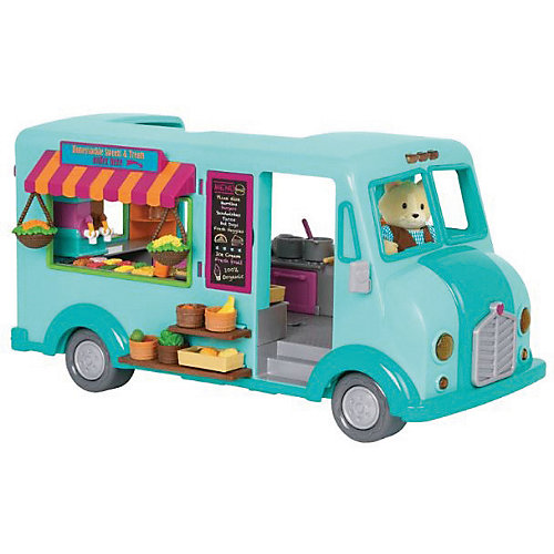 """Игровой набор Li'l Woodzeez """"Кафе на колесах"""", с аксессуарами от Li'l Woodzeez"""
