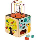 Развивающий куб Janod, с комплектом игр
