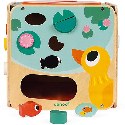 Развивающий куб Janod, с комплектом игр от Janod