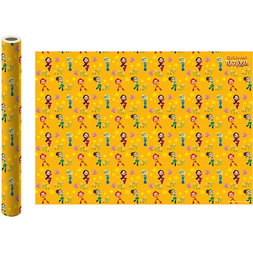 Упаковочная бумага ND Play «Сказочный патруль», желтая от ND Play