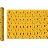 Упаковочная бумага ND Play «Сказочный патруль», желтая