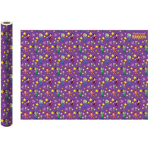 Упаковочная бумага ND Play «Сказочный патруль», фиолетовая от ND Play