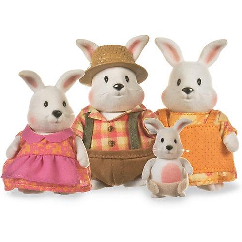 """Игровой набор Li'l Woodzeez """"Семья кроликов"""" от Li'l Woodzeez"""