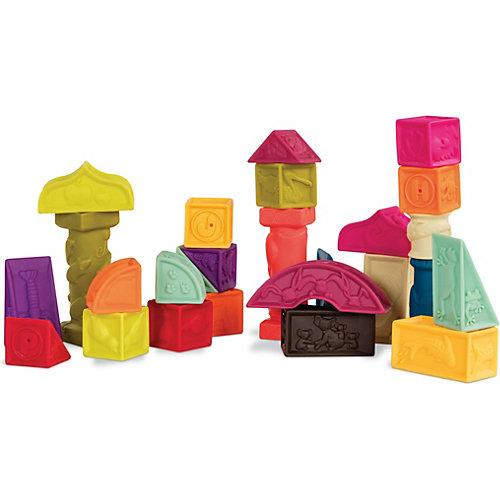 Мягкий конструктор B.Toys, кубики и другие формы