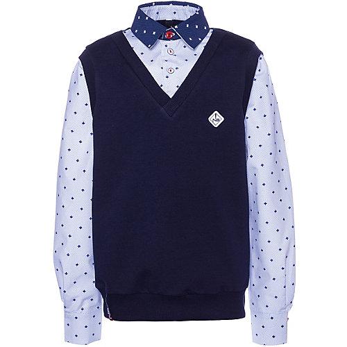 Рубашка Nota Bene - темно-синий от Nota Bene