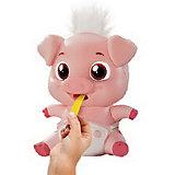 Интерактивная игрушка Abtoys «Лакомки: Свинка», звук