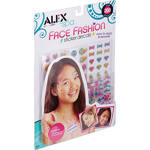 Набор Alex «Стикеры для украшения лица» от ALEX