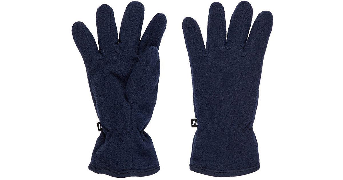 NKMMAR FLEECE GLOVES 1FO - Handschuhe - männlich dunkelblau Gr. 8 Jungen Kinder