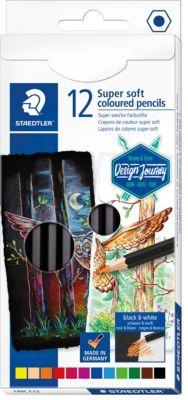 LYRA 12 Super FERBY Farbstifte Waldorf Selection lackiert Buntstifte Spitzer