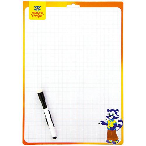 Доска для рисования с маркером двухсторонняя Мульти-Пульти, 340*490мм от Мульти-Пульти