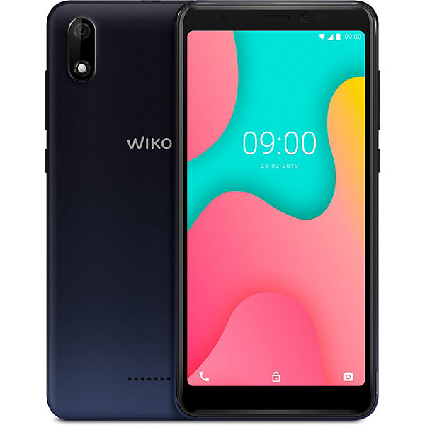 Wiko Y60, anthracite blue