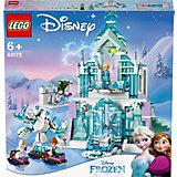 """Конструктор LEGO Princess """"Волшебный ледяной замок Эльзы"""", 701 деталь"""