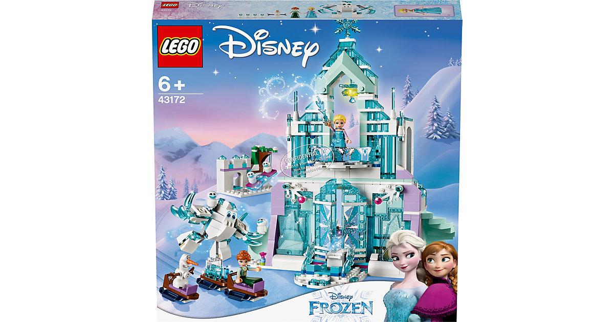 LEGO®® Disney 43172 Elsas magischer Eispalast bunt