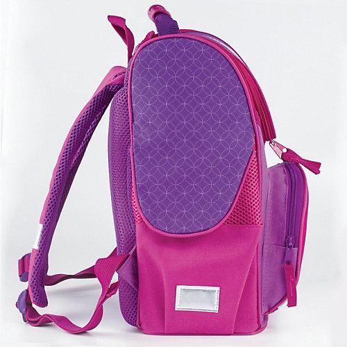 """Ранец c эргономичной спинкой Brauberg Style """"Юникорн"""", фиолетовый - фиолетовый от Brauberg"""