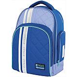 Рюкзак с ортопедической спинкой TIGER FAMILY, синий/голубой