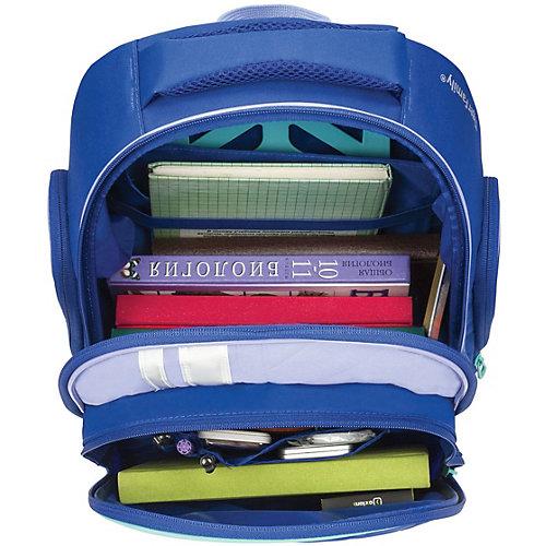 Рюкзак с ортопедической спинкой TIGER FAMILY, синий/голубой - atlantikblau от TIGER FAMILY