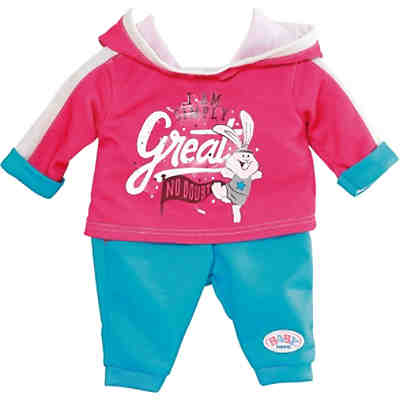 BABY born Jogging Suit pink 43cm