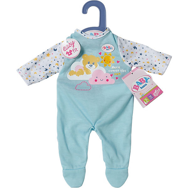 BABY born Little Night Outfit blue 36cm