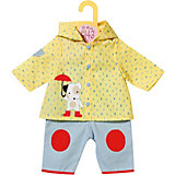 Одежда для куклы Zapf Creation Baby Born Комбинезон и курточка от дождя