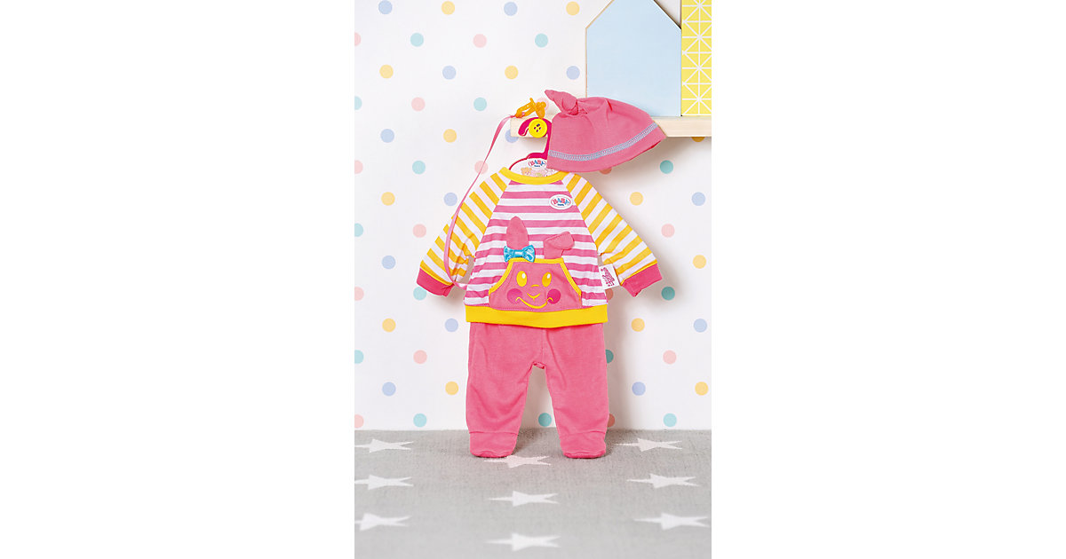 BABY born Little Nice Outfit pink 36cm
