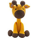 Вязаная игрушка Niki Toys Жираф Марли, 40см