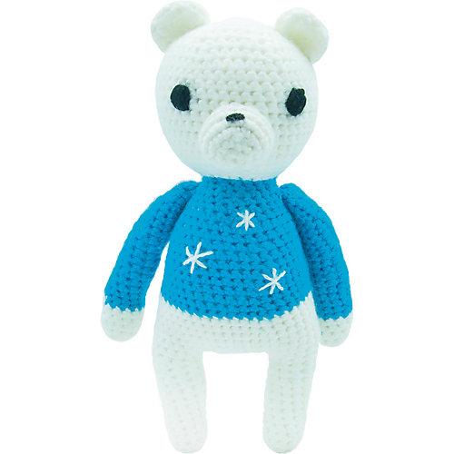 Вязаная игрушка Niki Toys Медвежёнок Сэмми, 30см от Niki Toys