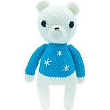 Вязаная игрушка Niki Toys Медвежёнок Сэмми, 30см