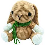 Вязаная игрушка Niki Toys Маленький зайчонок Джен, 20см