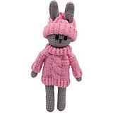 Вязаная  игрушка Niki Toys Заяц в свитере