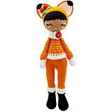 Вязаная игрушка Niki Toys Кукла Люси лисица, 45см