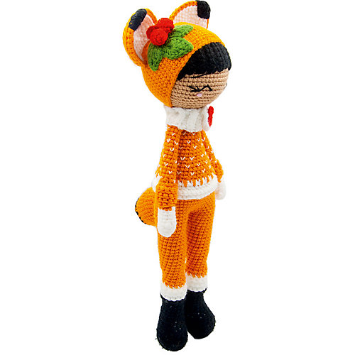 Вязаная игрушка Niki Toys Кукла Люси лисица, 45см от Niki Toys
