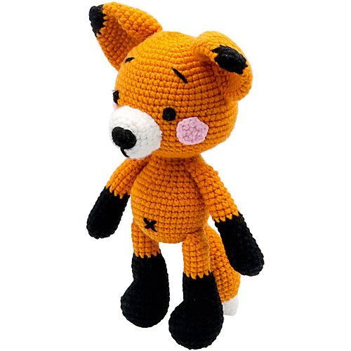 Вязаная игрушка Niki Toys Лисёнок Эшли, 25см от Niki Toys