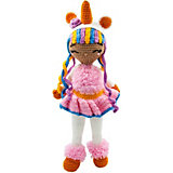 Вязаная игрушка Niki Toys Кукла Эмма Единорожка, 45см