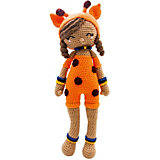 Вязаная игрушка Niki Toys Кукла Шейла Жирафик, 45см