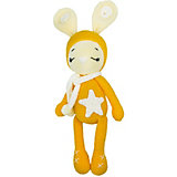 Вязаная игрушка Niki Toys Зайчонок Астерикс, желтый, 45см