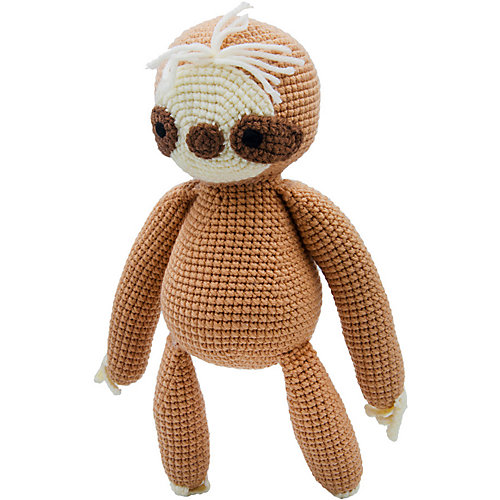 Вязаная игрушка Niki Toys Ленивый Мо, 30см от Niki Toys