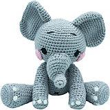 Вязаная игрушка Niki Toys слонёнок По, 40см