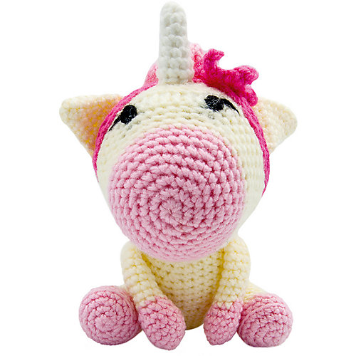 Вязаная  игрушка Niki Toys Малыш единорог от Niki Toys