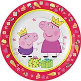 """Набор тарелок Росмэн """"Пеппа-принцесса"""", 6 шт"""