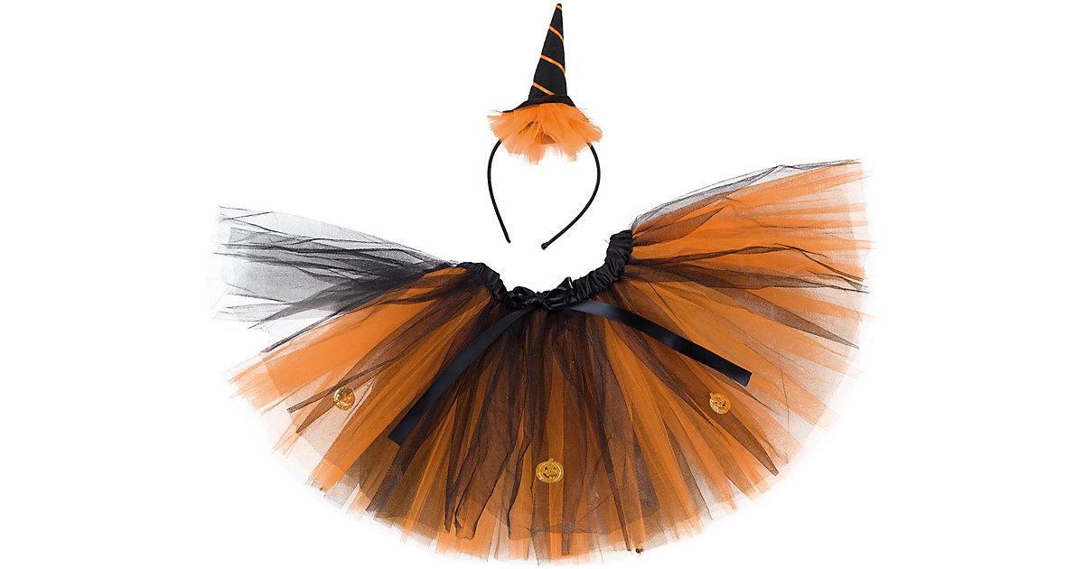 Halloween-Set, 2-tlg. Gr. 104/128 Mädchen Kleinkinder