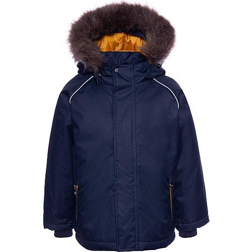Утепленная куртка Name it - темно-синий от name it