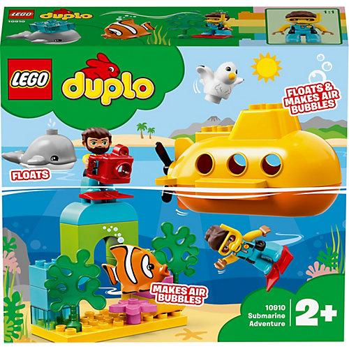 Конструктор LEGO DUPLO Town 10910: Путешествие субмарины от LEGO