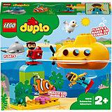 Конструктор LEGO DUPLO Town 10910: Путешествие субмарины