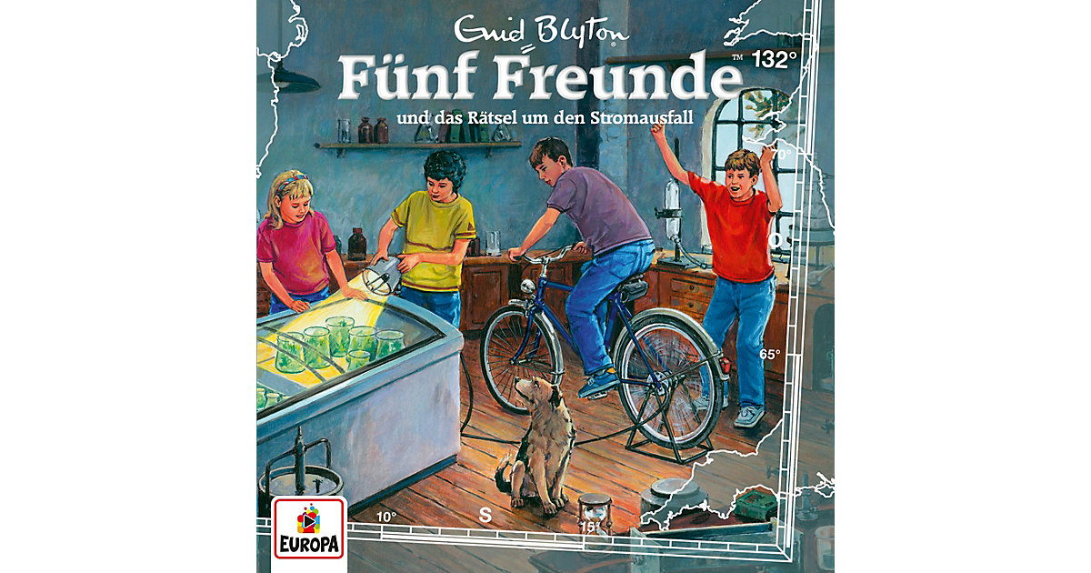 CD Fünf Freunde 132 - und das Rätsel um den Stromausfall Hörbuch
