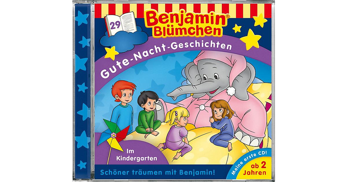 CD Benjamin Blümchen Gute Nacht Geschichten 29: Im Kindergarten Hörbuch